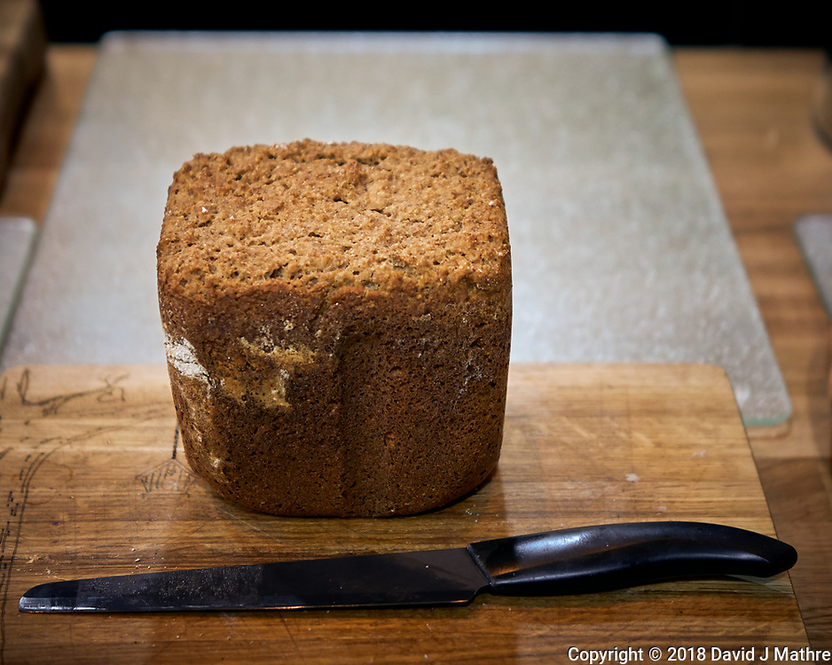Rye Oatmeal Maple Syrup Bread. Image taken with a Leica CL camera and 23 mm f/2 lens