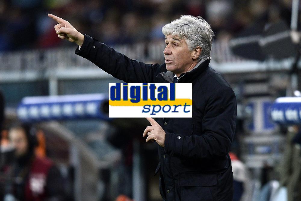 Gian Piero Gasperini Genoa. <br /> Genova 05-01-2016 Stadio Marassi. Football Calcio Serie A 2015/2016 Genoa - Sampdoria / foto Image Sport/Insidefoto