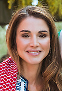 Queen Rania Visits Al Bayoudha Village