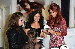 Amy Childs with fans at a  signing of her latest products at Amy's Boutique in Brentwood, Essex, Wednesday, 31st October 2012  Photo by: Chris Joseph / i-Images