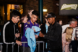 Fernandinho attends the World Premiere of Prime Video series. All or Nothing: Manchester City, at The Printworks in Manchester ahead of its release on Friday.