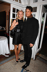 MATTHEW MELLON and NOELLE RENO at the Grand Classics screening of the film 'Don't Look Now' sponsored by Motorola held at The Electric Cinema, 181 Portobello Road, London W11 on 24th September 2007. <br /><br />NON EXCLUSIVE - WORLD RIGHTS