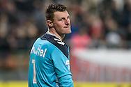 15-10-2016: Voetbal: FC Utrecht v Go Ahead Eagles: Utrecht<br /> <br /> (L-R) Go Ahead Eagles keeper Theo Zwarthoet baalt van de 3-0 tijdens het Eredivsie duel tussen FC Utrecht en Go Ahead Eagles op 15 oktober 2016 in stadion Nieuw Galgenwaard tijdens speelronde 9<br /> <br /> Eredivisie - Seizoen 2016 / 2017<br /> <br /> Foto: Gertjan Kooij