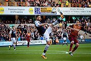 Milwall striker Steve Morison during the Sky Bet League 1 play-off second leg match between Millwall and Bradford City at The Den, London, England on 20 May 2016. Photo by Nigel Cole.