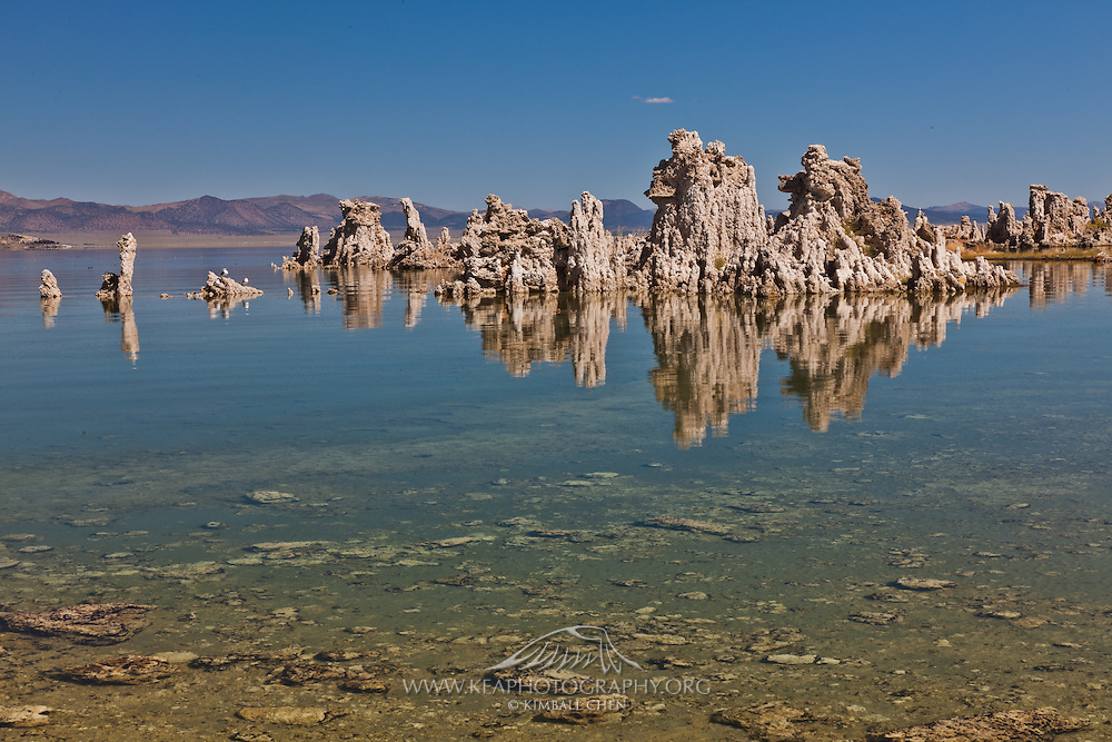 Tufa towers at Mono Lake, Sierra Nevada