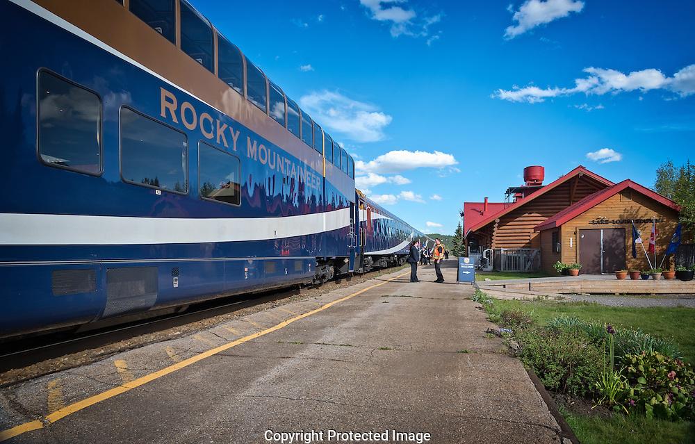 Rocky Mountaneer., Alberta, Canada, Isobel Springett