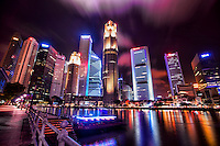 Singapore Skyline @ Night