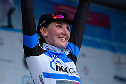 Lisa Brennauer (CANYON//SRAM Racing) remains the best placed German rider after Thüringen Rundfarht 2016 - Stage 4 a 19km time trial starting and finishing in Zeulenroda Triebes, Germany on 18th July 2016.