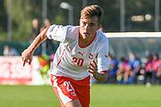 21.09.2017; Niederhasli; FUSSBALL U16 - Schweiz - Italien;<br /> Yannick Cotter (SUI) <br /> (Andy Mueller/freshfocus)