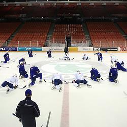 20080506: Ice Hockey - Practice of Slovenia, Halifax, Canada