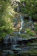 Tom Branch Falls, Deep Creek,Great Smoky Mountains, North Carolina.