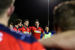 Glen Townson of Bristol United talks to the team in a huddle at full time - Mandatory by-line: Robbie Stephenson/JMP - 18/04/2016 - RUGBY - Clifton RFC - Bristol, England - Bristol United v Saracens Storm - Aviva A League
