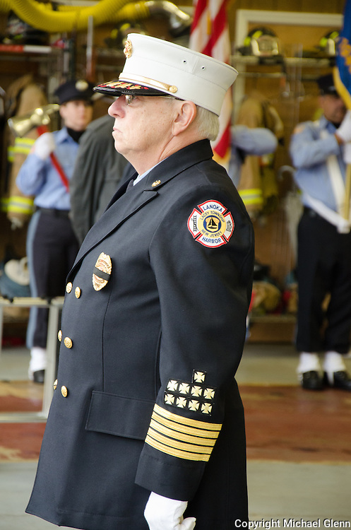10Jun2013/Lanoka Harbor/NJ/USA/Funeral Service for LHFD Chief Kevin Perrone who died suddenly after a battle with Kidney failure.
