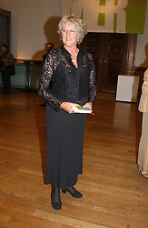 PROF.GERMAINE GREER at the Royal Academy dinner before the official opening of the Summer Exhibition held at the Royal Academy of Art, Burlington House, Piccadilly, London W1 on 1st June 2005.<br />