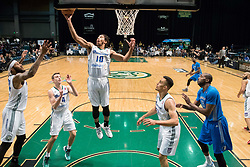 March 20, 2017 - Reno, Nevada, U.S - Reno Bighorn Guard ISAIAH COUSINS (10) pulls down a rebound during the NBA D-League Basketball game between the Reno Bighorns and the Texas Legends at the Reno Events Center in Reno, Nevada. (Credit Image: © Jeff Mulvihill via ZUMA Wire)
