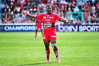 Steffon ARMITAGE - 05.04.2015 - Toulon / Londres Wasps - 1/4Finale European Champions Cup<br />Photo : Dave Winter / Icon Sport