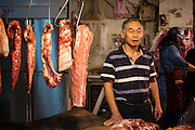 Taipei Tamsui market stall owner