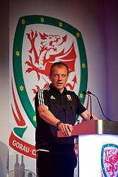 NEWPORT, WALES - Saturday, May 19, 2018: Richard Williams during the Football Association of Wales Under-16's Caps Presentation at the Celtic Manor Resort. (Pic by David Rawcliffe/Propaganda)