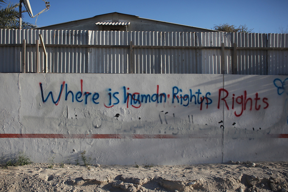 When activists spray graffiti on walls, it's usually covered soon after and so they write it again