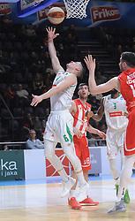 CRVENA ZVEZDA vs OLIMPIJA<br /> Beograd,02.02.2019.<br /> foto: Nebojsa Parausic<br /> <br /> Kosarka, Jadranska Aba liga, Crvena zvezda, Olimpija,  XYZ