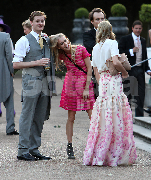 Poppy Delevingne and James Cook\'s wedding reception. | Gotcha Images