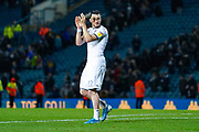 Leeds United midfielder Jack Harrison (22) reacts during the EFL Sky Bet Championship match between Leeds United and Queens Park Rangers at Elland Road, Leeds, England on 2 November 2019.