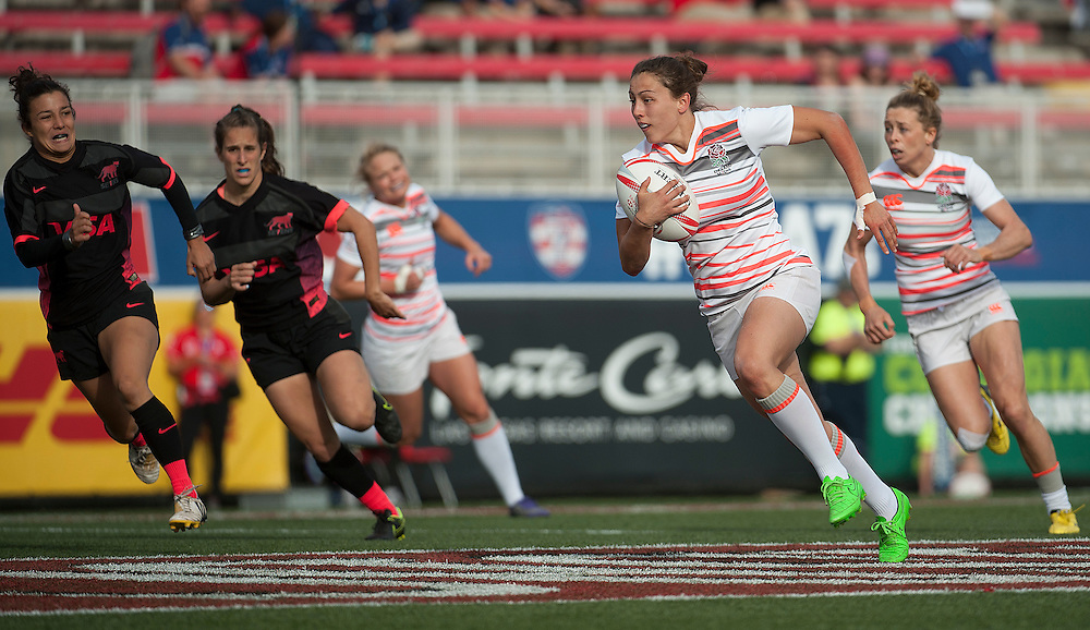 Women's teams take part in the knockout rounds for the USA Sevens,  Round Three of the Women's World Rugby HSBC Sevens Series in Las Vegas, Nevada, March 4, 2017. <br /> <br /> Jack Megaw for USA Sevens.<br /> <br /> www.jackmegaw.com<br /> <br /> jack@jackmegaw.com<br /> @jackmegawphoto<br /> [US] +1 610.764.3094<br /> [UK] +44 07481 764811