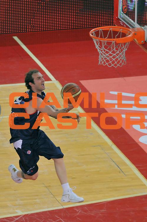 DESCRIZIONE : Roma Lega A 2008-09 Playoff Quarti di Finale Gara 1 Lottomatica Virtus Roma Angelico Biella<br /> GIOCATORE : Valerio Spinelli<br /> SQUADRA : Angelico Biella<br /> EVENTO : Campionato Lega A 2008-2009 <br /> GARA : Lottomatica Virtus Roma Angelico Biella<br /> DATA : 18/05/2009<br /> CATEGORIA : Tiro<br /> SPORT : Pallacanestro <br /> AUTORE : Agenzia Ciamillo-Castoria/G.Vannicelli