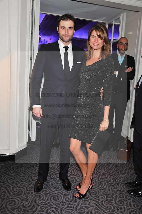 DAVID & GABRIELLA PEACOCK at the Quintessentially Foundation poker evening at The Savoy Hotel, London on 30th October 2012.