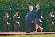 Ceremony of the bicentenary of the Battle of Waterloo. Waterloo, 18 june 2015, Belgium<br /> Pics: S.D. F&uuml;rst von Bl&uuml;cher
