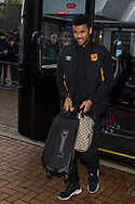 Fraizer Campbell of Hull City arrives at Ewood Park, Blackburn ahead of during the FA Cup match between Blackburn Rovers and Hull City<br /> Picture by Matt Wilkinson/Focus Images Ltd 07814 960751<br /> 06/01/2018