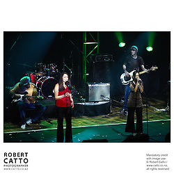 Rhombus at the APRA Silver Scroll Awards 2004 at the Wellington Town Hall, Wellington, New Zealand.<br />