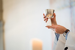 """1 July 2018, Geneva, Switzerland: On Sunday, LWF Council members joined local congregants for Sunday service at the Evangelical Lutheran Church in Geneva. The 2018 LWF Council meeting takes place in Geneva from 27 June - 2 July. The theme of the Council  is """"Freely you have received, freely give"""" (Matthew 10:8, NIV). The LWF Council meets yearly and is the highest authority of the LWF between assemblies. It consists of the President, the Chairperson of the Finance Committee, and 48 members from LWF member churches in seven regions."""