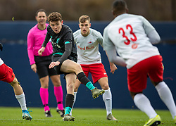 GRÖDIG, AUSTRIA - Tuesday, December 10, 2019: Liverpool's Thomas Hill during the final UEFA Youth League Group E match between FC Salzburg and Liverpool FC at the Untersberg-Arena. (Pic by David Rawcliffe/Propaganda)