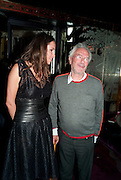 SASHA VOLKOVA; MICHAEL WHITE, Lauren Goldstein Crowe hosts reception to thank those that particitated in the research for her book: Isabella, A Life in Fashion. The Fumoir. Claridge's. London. 8 November 2010. -DO NOT ARCHIVE-© Copyright Photograph by Dafydd Jones. 248 Clapham Rd. London SW9 0PZ. Tel 0207 820 0771. www.dafjones.com.