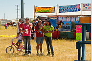 Teenagers, Milk River Indian Days Pow Wow, Fort Belknap Indian Reservation, Montana