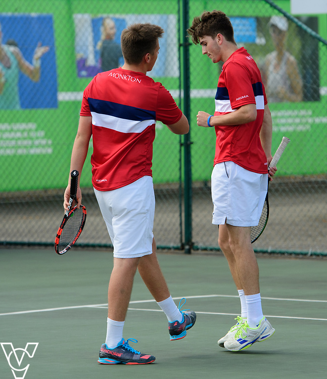 Team Tennis Schools National Championships Finals 2017 held at Nottingham Tennis Centre.  Monkton Senior School<br /> <br /> Picture: Chris Vaughan Photography for the LTA<br /> Date: July 12, 2017