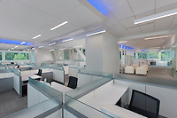 Office Building interior image of Qiagen Level 2N in Germantown MD by Jeffrey Sauers of Commercial Photographics, Architectural Photo Artistry in Washington DC, Virginia to Florida and PA to New England