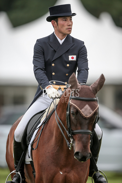 POACHERS HOPE ridden by Ryuzo Kitajima (Japan) at Bramham International Horse Trials 2016 at Bramham Park, Bramham, United Kingdom on 9 June 2016. Photo by Mark P Doherty.