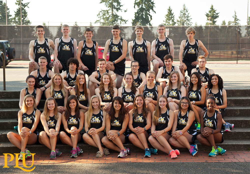 Cross Country team on Monday, Aug. 25, 2014. (Photo/John Froschauer)