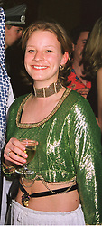 The HON.TANIA ASTOR daughter of Lord Astor of Hever, at a party in London on 25th March 1999.MPT 16 WO