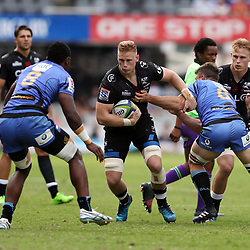 Jean-Luc du Preez of the Cell C Sharks during the Super Rugby match between the Cell C Sharks and the Western Force at Growthpoint Kings Park on May 06, 2017 in Durban, South Africa. (Photo by Steve Haag)