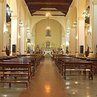 Vista interna de la Iglesia Matriz Nuestra Señora de Guadalupe, La Victoria, Edo. Aragua. Venezuela. La Victoria, Julio, 15 del 2010. Jimmy Villalta