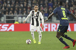 March 8, 2019 - Turin, Piedmont, Italy - Martin Caceres (Juventus FC) during the Serie A football match between Juventus FC and Udinese Calcio at Allianz Stadium on March 08, 2019 in Turin, Italy..Juventus won 4-1 over Udinese. (Credit Image: © Massimiliano Ferraro/NurPhoto via ZUMA Press)