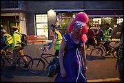 IAN DEEK, Andrew Logan's Alternative Miss World 2014. Shakespeare's Globe, London. 18 October 2014.