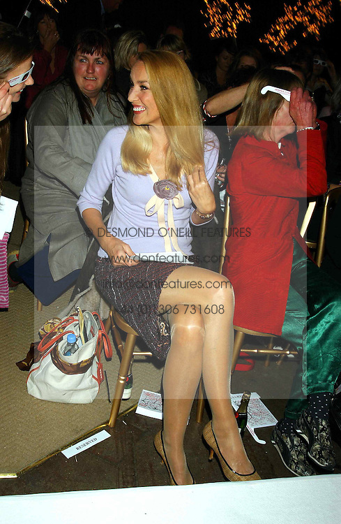 JERRY HALL at an exclusive evening featuring the greatest talents in fashion today in aid of the African children who have been affected bt the AIDS epidemic held at the Chelsea Gardener, Sydney Street, London on 20th September 2004<br /><br />NON EXCLUSIVE - WORLD RIGHTS