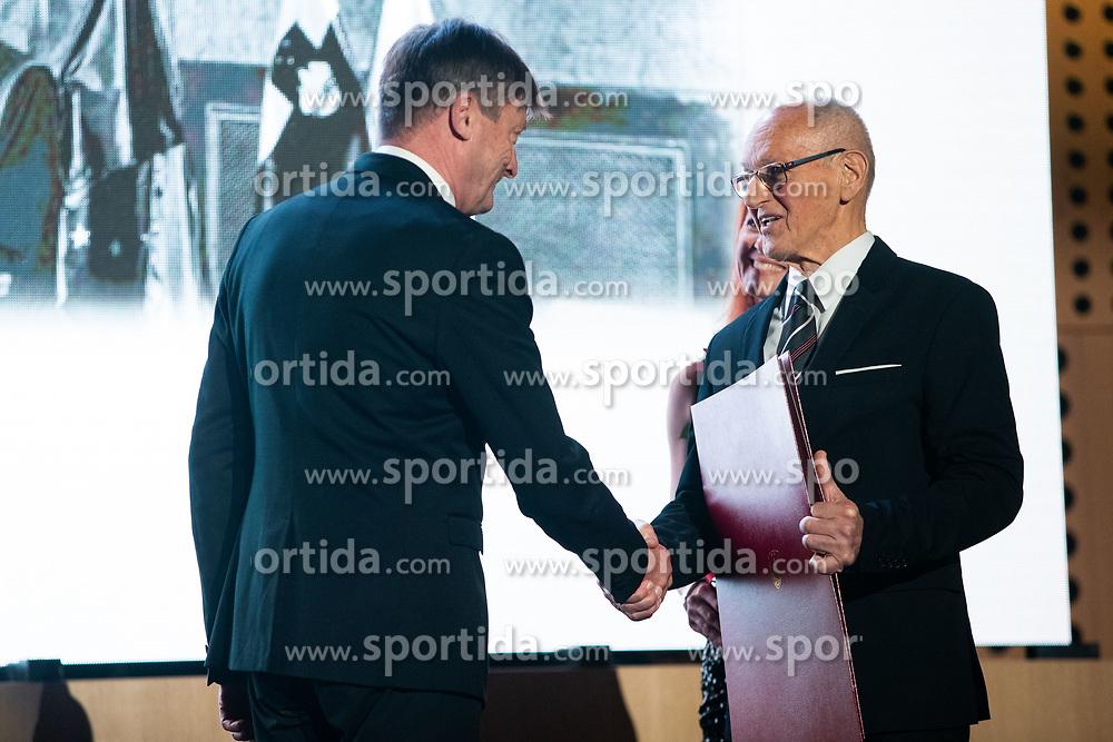 Milan Zvan at 55th Annual Awards of Stanko Bloudek for sports achievements in Slovenia in year 2018 on February 4, 2020 in Brdo Congress Center, Kranj , Slovenia. Photo by Grega Valancic / Sportida