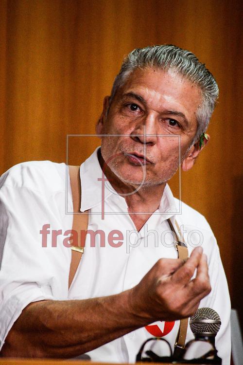 Curitiba(PR)04/03/16 Diretorio do Pt de Curitiba convoca reuniao extraordinaria para acoes em defesa de Lula.Foto: Suellen Lima/ Frame Photo