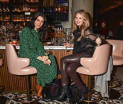 21 November 2019 - Emma Lawson and Poppy Delbridge at the launch of Sam's Riverside Restaurant, 1 Crisp Walk, Hammersmith hosted by owner Sam Harrison, Edward Taylor and Jack Brooksbank.<br /> <br /> Photo by Dominic O'Neill/Desmond O'Neill Features Ltd.  +44(0)1306 731608  www.donfeatures.com