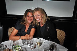 Left to right, TRACEY EMIN and JACKIE CARING at a dinner to celebrate the 30th anniversary of Le Caprice, Arlington Street, London SW1 on 4th October 2011.
